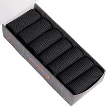 Набор из 7 пар мужских носков (LORENZline) черные