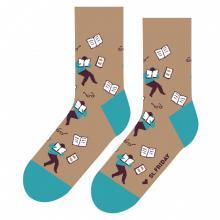 Носки unisex St. Friday Socks Читающая столица