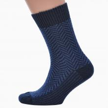 Мужские шерстяные носки RuSocks ТЕМНО-СИНИЕ