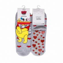Детские махровые антискользящие носки RuSocks СЕРЫЕ