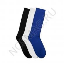 Комплект детских носков Teller Optima из 3 пар БЕЛЫЕ, СИНИЕ и ЧЕРНЫЕ 300