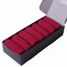 Набор из 7 пар мужских носков (НЕВА-Сокс) темно-красные