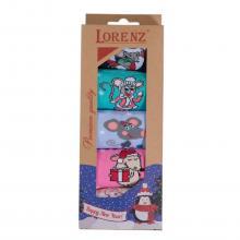 Комплект из 5 пар женских носков LORENZ микс