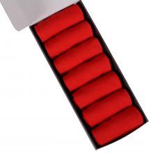 Набор из 7 пар мужских носков (НЕВА-Сокс) ярко-красные