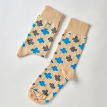 Носки unisex St. Friday Socks Совы снова идут в бой. Бежевые поля