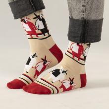 Носки unisex St. Friday Socks Супрематизм в бычьем контуре