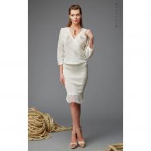 Комплект из юбки и блузки Milliner белый