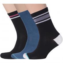 Комплект из 3 пар мужских спортивных носков Flappers Peppers микс 8