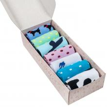 Набор женских носков из 7 пар (ХОХ FANTASY) микс 1