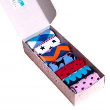 Набор из 7 пар женских носков (ХОХ FANTASY) микс