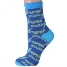 Женские носки Flappers Peppers СИНИЕ