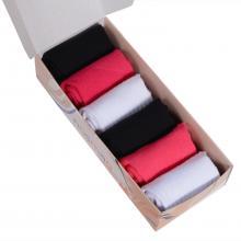 Набор из 6 пар женских носков с махровыми мыском и пяткой (Palama) микс