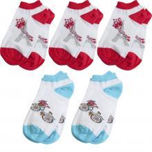 Комплект из 5 пар детских носков RuSocks (Орудьевский трикотаж) микс 2