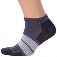 Мужские укороченные носки Брестские СЕРЫЕ