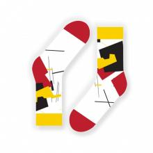 Носки unisex St. Friday Socks Супрематизм Клюн