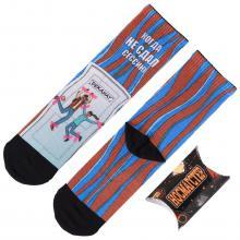 Молодежные носки в подарочной упаковке НОСМАГСТЕР с принтом  Когда не сдал сессию