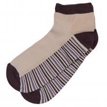 Детские укороченные носки с сеточкой ХОХ БЕЖЕВЫЕ