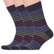 Комплект из 3 пар мужских носков Classic (Palama) МУЛЬТИКОЛОР