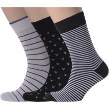 Комплект из 3 пар мужских носков Flappers Peppers микс 1