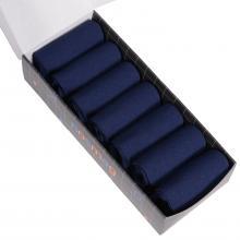 Набор из 7 пар мужских носков от фабрики VIRTUOSO темно-синие