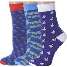 Комплект из 3 пар женских носков Flappers Peppers микс 7