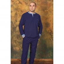 Костюм домашний мужской Renato Balestra темно-синий