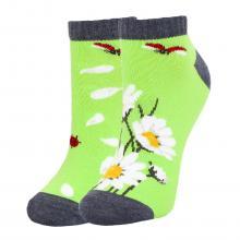Детские укороченные носки Брестские ЗЕЛЕНЫЕ