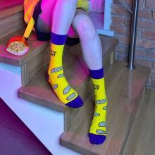 Носки unisex St. Friday Socks Хочу жрать!