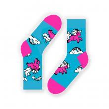 Носки unisex St. Friday Socks Единороги на радуге