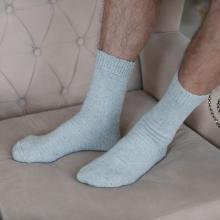 Мужские шерстяные носки (Бабушкины носки) СЕРЫЕ