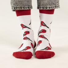 Носки unisex St. Friday Socks Снегирики