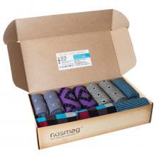 Набор носков из 10 пар в кейсе с сургучной печатью (ХОХ FANTASY) микс 1