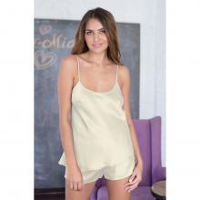 Женская пижама Mia-Mia Молочный