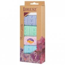 Комплект из 7 пар женских носков LORENZline микс