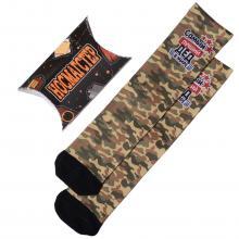 Мужские носки в подарочной упаковке НОСМАГСТЕР с принтом  Самый лучший дед