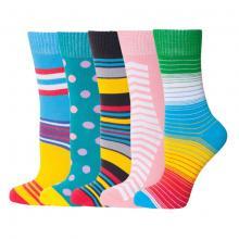 Комплект из 5 пар женских носков MoscowSocksClub микс
