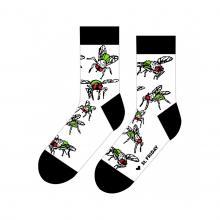 Носки unisex St. Friday Socks МУХА БЕЛЫЕ