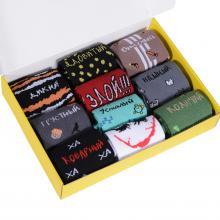 Набор из 10 пар мужских спортивных носков Flappers Peppers микс