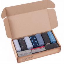 Набор из 10 пар мужских носков DiWaRi МИКС