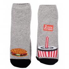 Комплект из 2 пар мужских носков Чобот ГАМБУРГЕР / КОКА-КОЛА