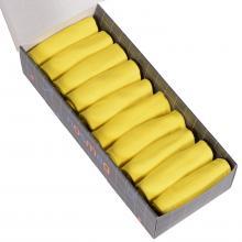 Набор из 10 пар мужских коротких носков (LORENZline) желтые