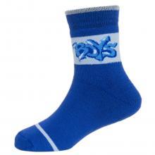 Детские махровые носки  Красная ветка  СИНИЕ