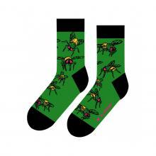 Носки unisex St. Friday Socks МУХА ЗЕЛЕНЫЕ