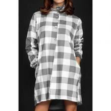 Платье домашнее Snelly темно-серый меланж