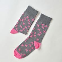 Носки unisex St. Friday Socks Как всегда выигрывать в крестики нолики. Серая версия