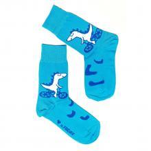 Носки unisex St. Friday Socks Динозаврик на велике