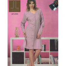 Платье домашнее Lancetti розовое