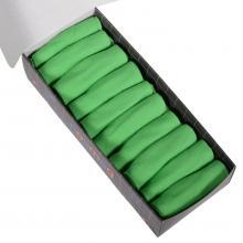 Набор из 10 пар мужских коротких носков (LORENZline) салатовые
