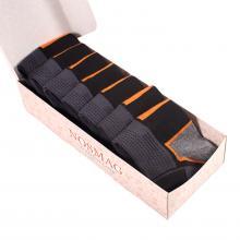 Набор из 7 пар спортивных носков (Гранд Сокс) темно-серые
