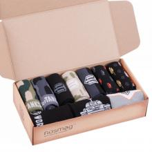 Набор из 10 пар мужских носков WORLD OF TANKS (Брестские) МИКС